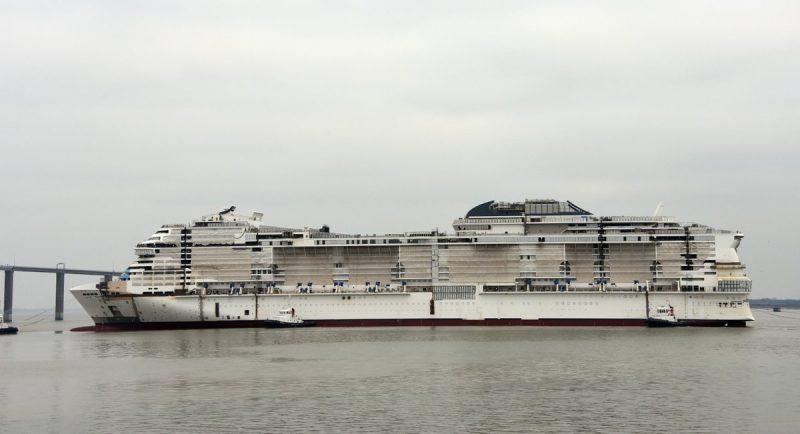 Msc Cruceros celebra la flotación del Msc Grandiosa